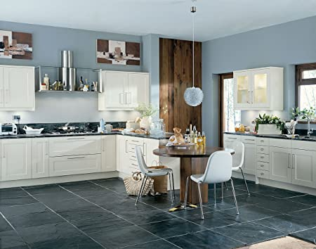 CK Kitchens Scope Ivory Kitchen units & doors Rigid Built Kitchens ...
