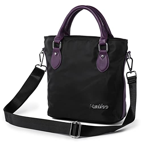 64b377a4e4fd Top Handle Bag Small Nylon Handbags for Women Crossbody Tote Bags ...
