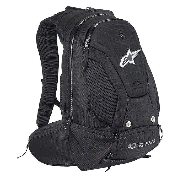 Amazon.com: Alpinestars Cargador Mochila, Negro 610709 – 10 ...