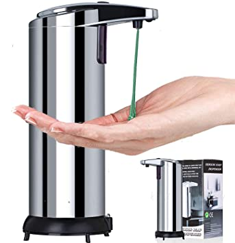 Amazon.com: teeofspirit Dispensador Automatico de Jabon ...