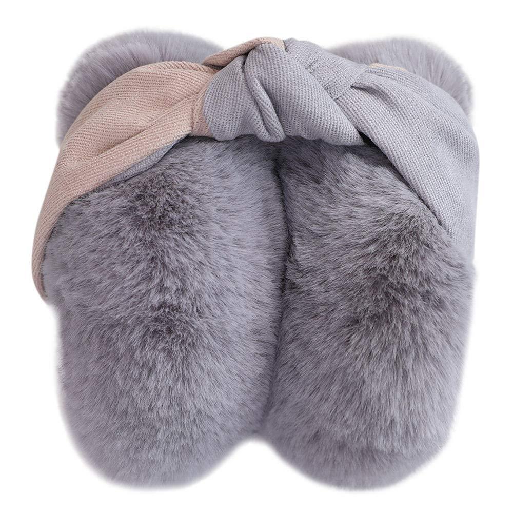 WILLTOO❤️❤️ Outdoor Soft Fleece Plush Warm Ear Covers Earmuff Running Cycling Ski Snow Ear Muffs Headband