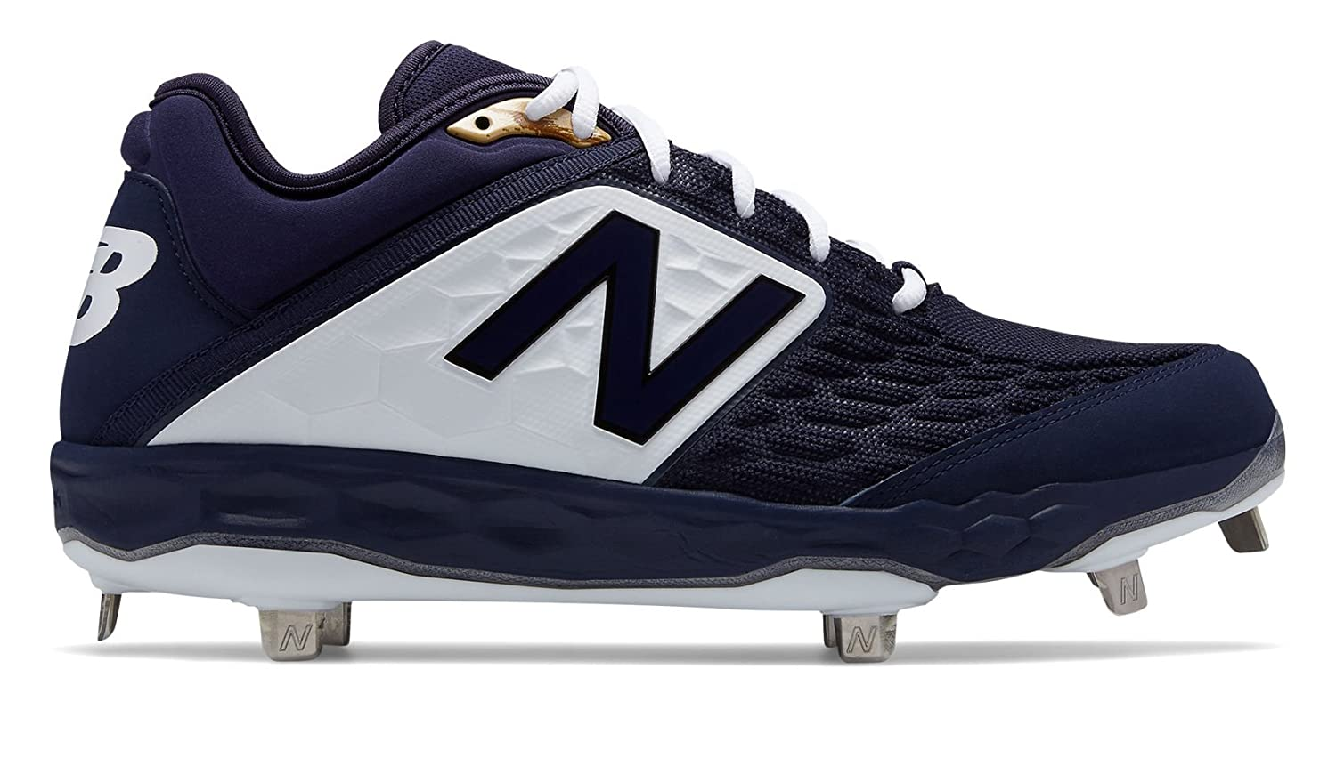 New Balance Men's 3000v4 Metal Baseball Shoe B075R6Z24Q 14 2E US|Navy