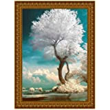 Diamond Painting Kits for Adults and Kids, White Trees in The Lake Scenery Art 5D Full Drill Art Diamond Paingtings by…