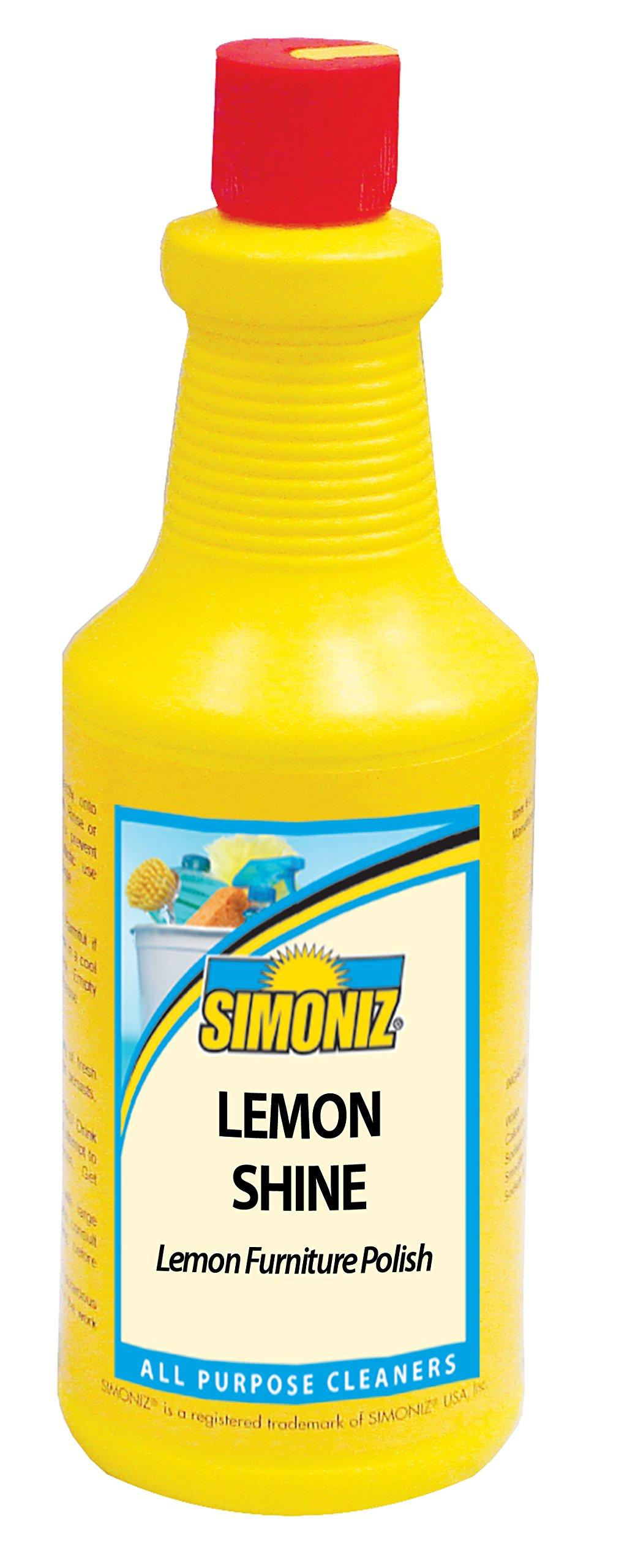 Simoniz L2045012 Lemon Shine Furniture Polish, 32 oz Bottles per Case (Pack of 12)