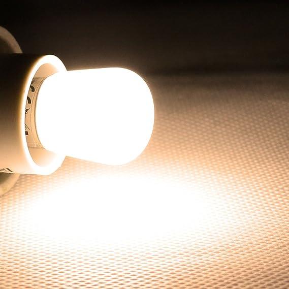 140lm 230V 2W Leuchtmittel Kühlschrank Birne 5x E14 LED Lampen MINI warmweiß