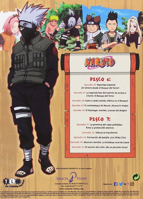Naruto Box 2 Episodios 26 Al 50 [DVD]: Amazon.es: Animación ...