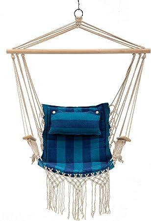 Dongtu Home Child Hammock Chair Kids Swing Pod Outdoor Indoor Hanging Seat Hammocks Hammocks