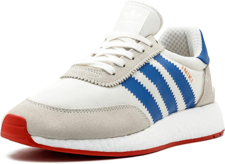 adidas iniki white blue