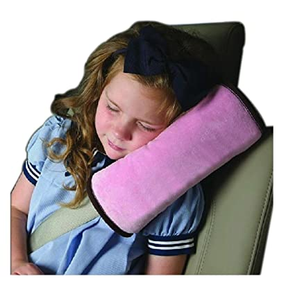 DaoRier bebé niños hombro Cojín Cojín cervical reposacabezas Auto sicherheits Seguridad Cinturón acolchado Auto asiento protectora Temperatura ...