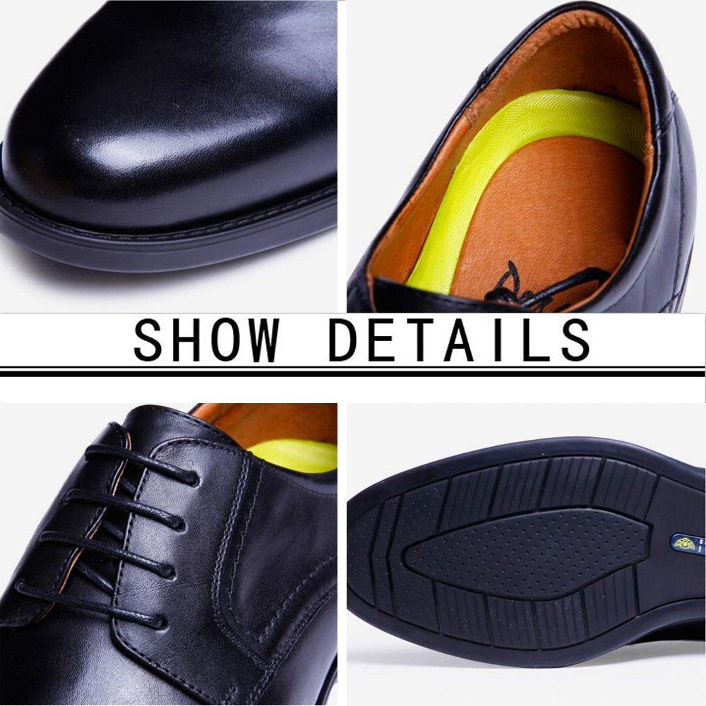 GAOLIXIA Herrenschuhe Herrenschuhe Herrenschuhe - Hochwertige Leder Kleid Schuhe - Lace Breathable Casual spitz Herrenschuhe - Leder Herrenschuhe Business Kleid Schuhe a1a001