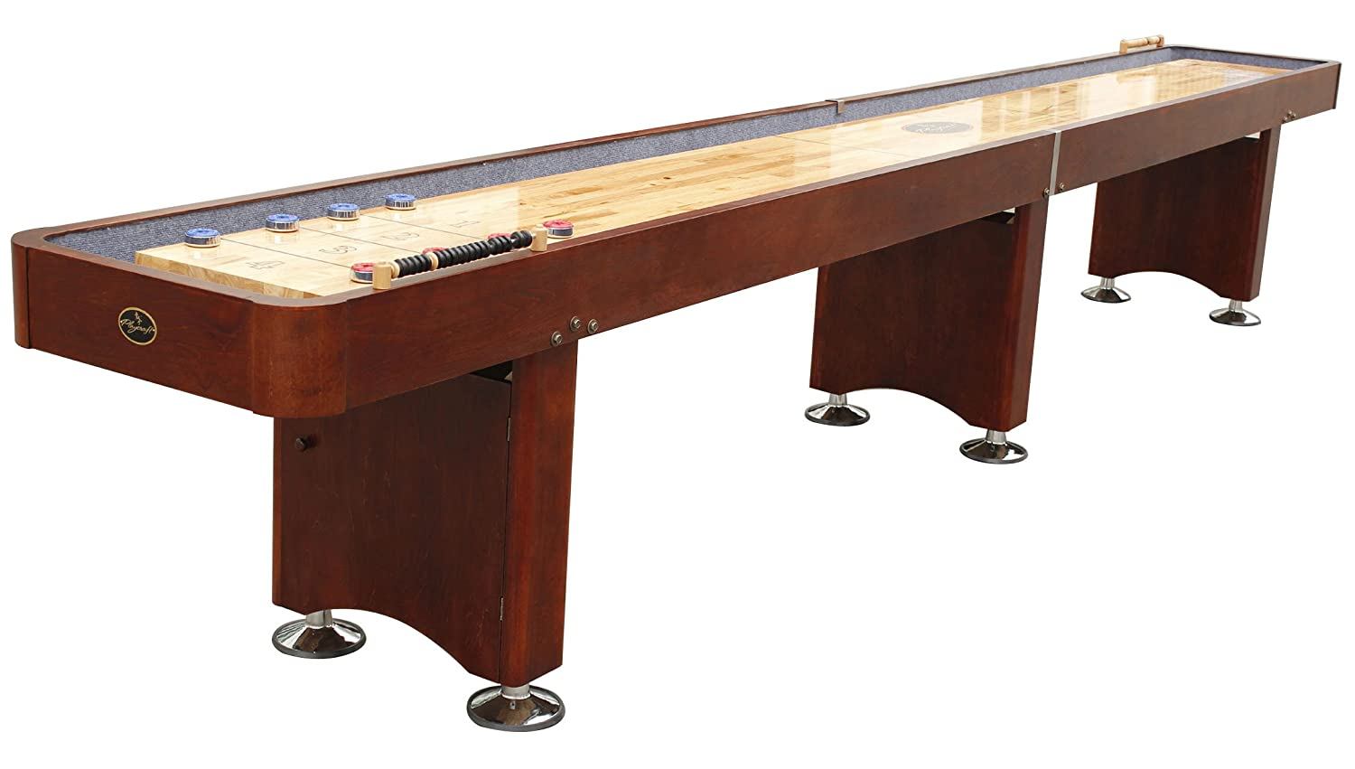 71yW3 IkECL._SL1500_ amazon com playcraft georgetown shuffleboard table sports  at gsmx.co