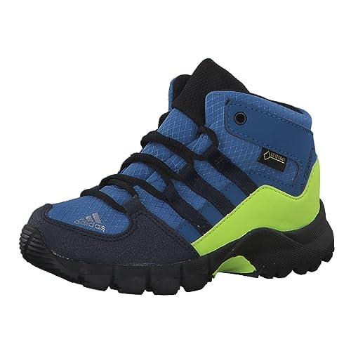 best sneakers 81acb a6060 Adidas Terrex Mid GTX I, Stivali da Escursionismo Alti Unisex-Bambini, Blu (