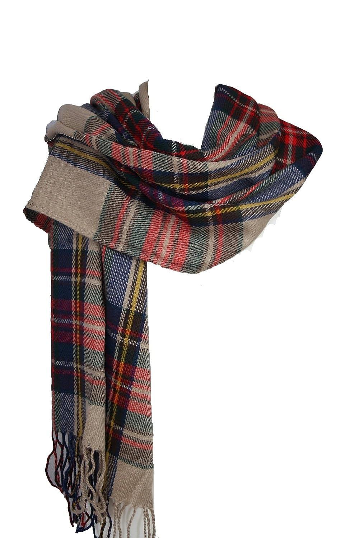 Grand pashmina châle en tartan pour femmes Taille L - Jaune - Taille  unique  Amazon.fr  Vêtements et accessoires a5a7ec5bf17