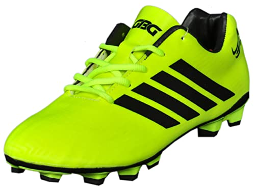 6634fba6e11 GBG Mens Messi Synthetic Leather Football Studs Shoes -9686  Buy Online at  Low Prices in India - Amazon.in