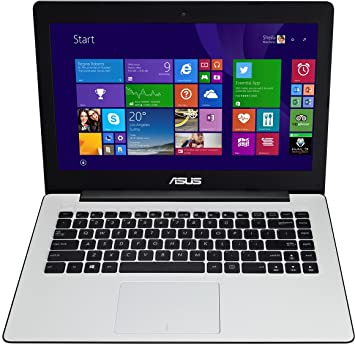 ASUS F453MA-BING-WX397B - Ordenador portátil (Portátil, Touchpad, Windows 8.1 with Bing, Ión de litio, 64-bit, Color blanco): Amazon.es: Informática