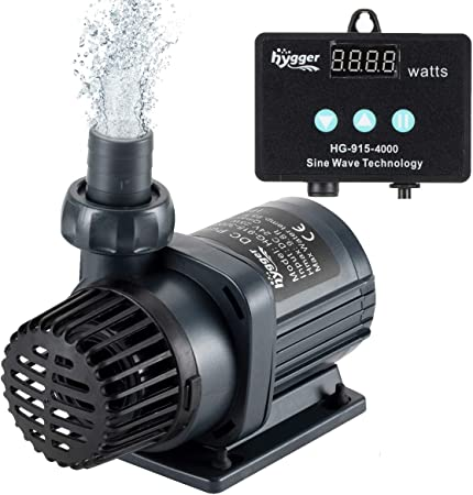 Hygger Quiet Submersible and External 24V DC Water Pump