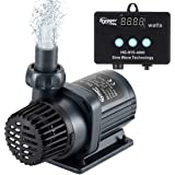 Hygger Quiet Submersible and External 24V DC Water Pump, with Controller (30%-100% Settings), Powerful Return Pump for…