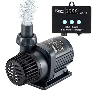 Hygger Quiet Submersible and External DC Water Pump