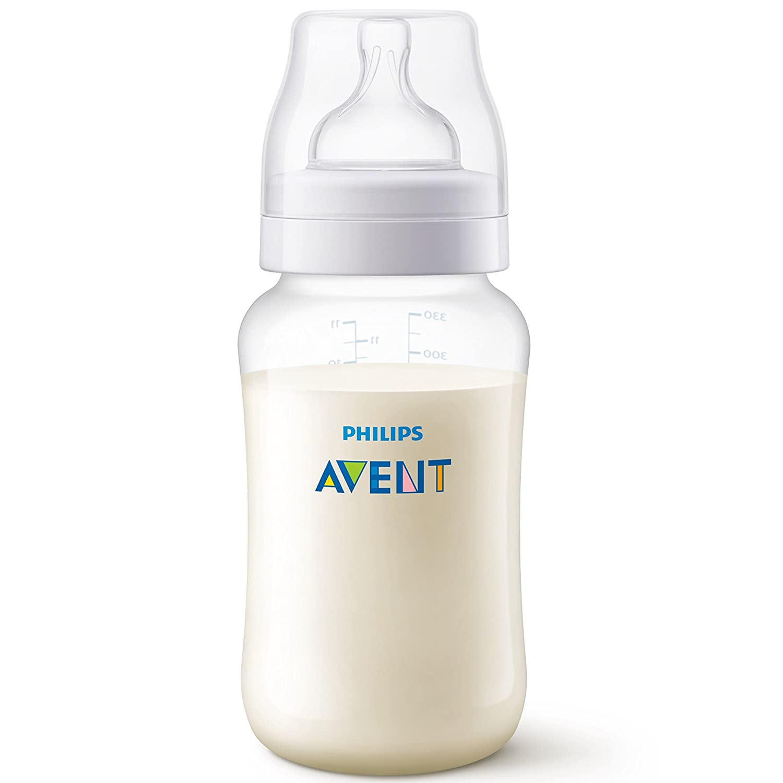 3 Mois+ Philips Avent SCF816//37 Lot de 3 Biberons Anti-colic 330 ml