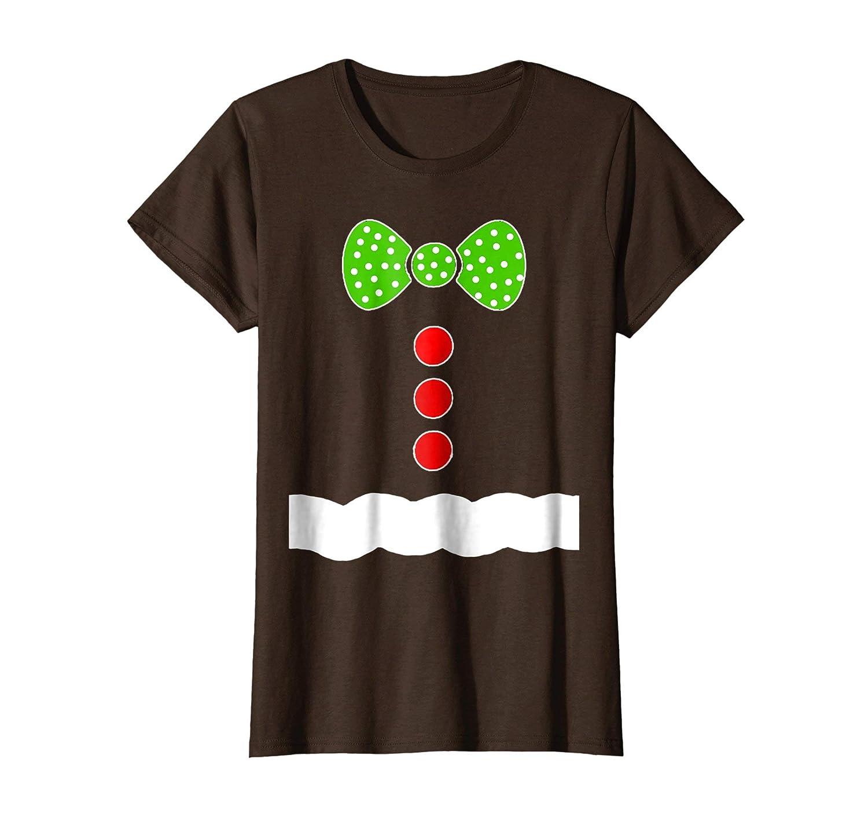 Amazon.com: Gingerbread Man Costume T Shirt - Christmas Shirts: Clothing