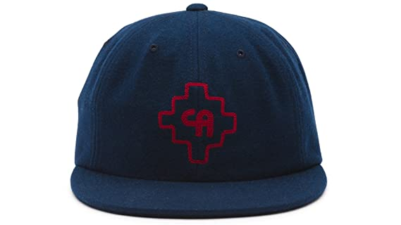 9e3538d8 Amazon.com: Vans Shoes Off The Wall Men's Jarvis California Collection  Strapback Hat Cap - Navy: Clothing