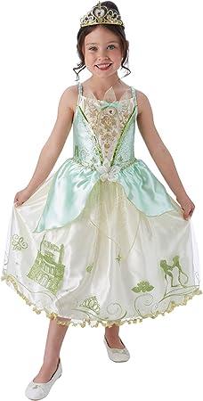 Rubies - Disfraz oficial de la princesa Disney Tiana, disfraz ...