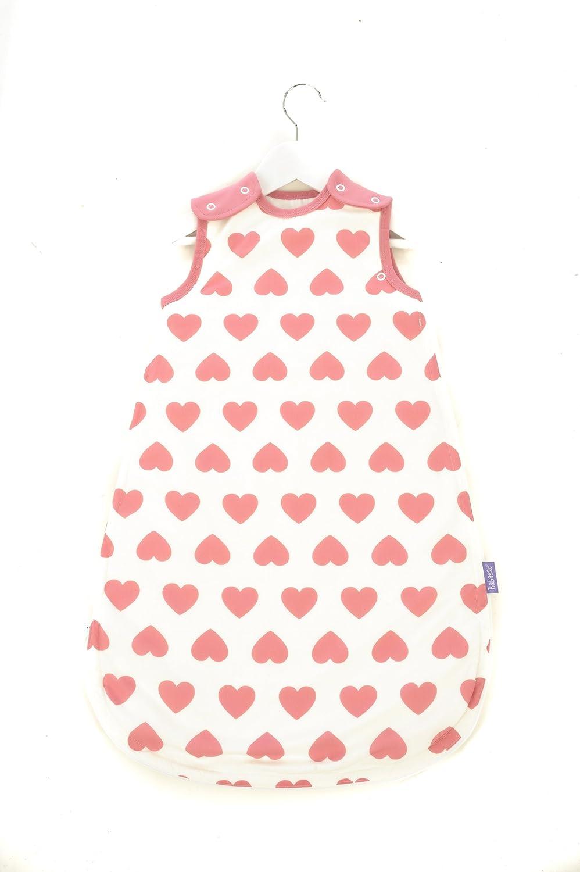 Mama Designs BSH618 - Sacco nanna Babasac, 6-18 mesi, decorazione: cuoricini