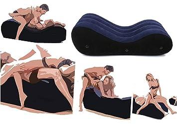 Au0026ZMYOU Sofa Aufblasbarer Kissen Stuhl Erwachsene Sex Bett Möbel Für Paare  Erotische