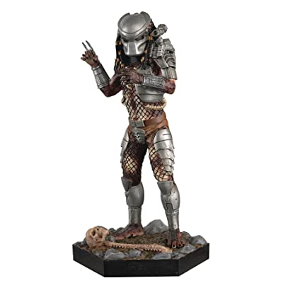 Eaglemoss Collection Alien and Predator Masked Predator Figure with Magazine #20: Toys & Games