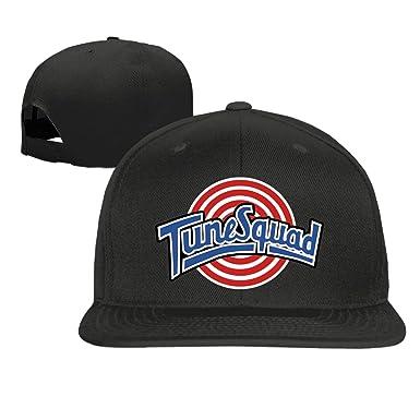 Amazon.com  Baseball cap hip hop hat Tune Squad hat Black (5 colors ... 7b6d2ce8c0fc