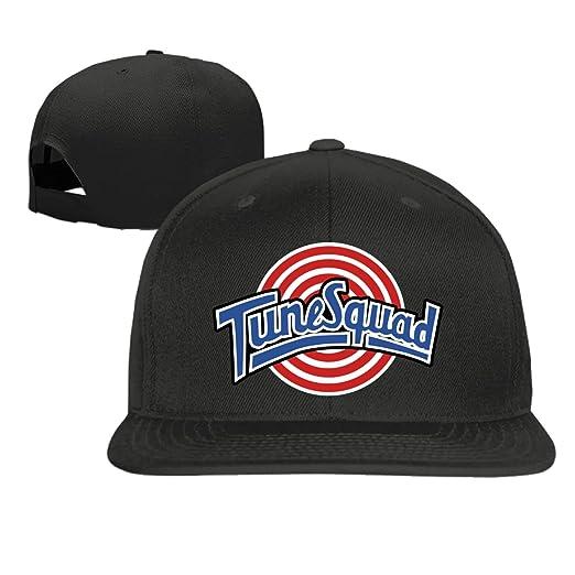 b77ec301f88 Amazon.com  Baseball cap hip hop hat Tune Squad hat Black (5 colors ...