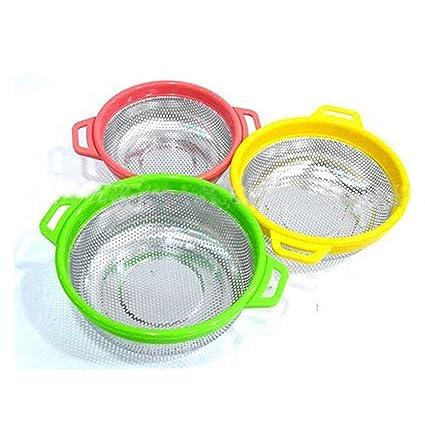 Plastic Tea Strainer Drainer Sieve