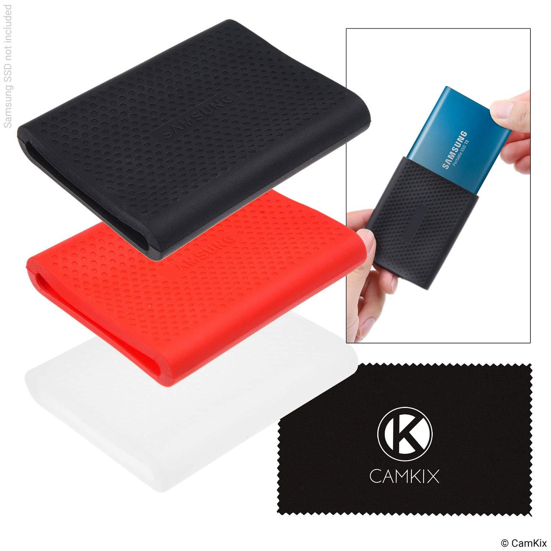 CamKix Estuche de Reemplazo compatible con Samsung T5 / T3 / T1 ...