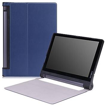 MoKo Lenovo Yoga Tab 3 10 Case - Ultra Slim Lightweight Smart-Shell Cover Case for Lenovo Yoga Tab 3 10 Inch 2015 Tablet, Indigo