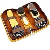 Kits de cuidado de la piel zapato de viaje, Deluxe Viaje Shoe Shine Kit.