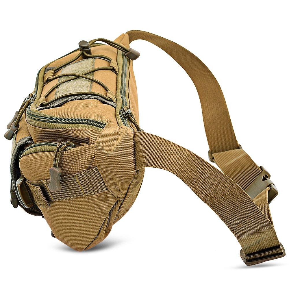 Dreambox donna marsupio multifunzione marsupio leggero regolabile Cintura borsa