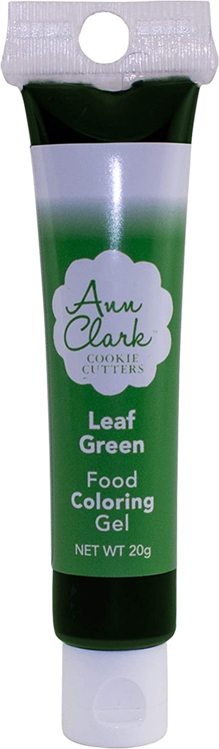 Ann Clark Cookie Cutters Leaf Green Food Coloring Gel, 20g