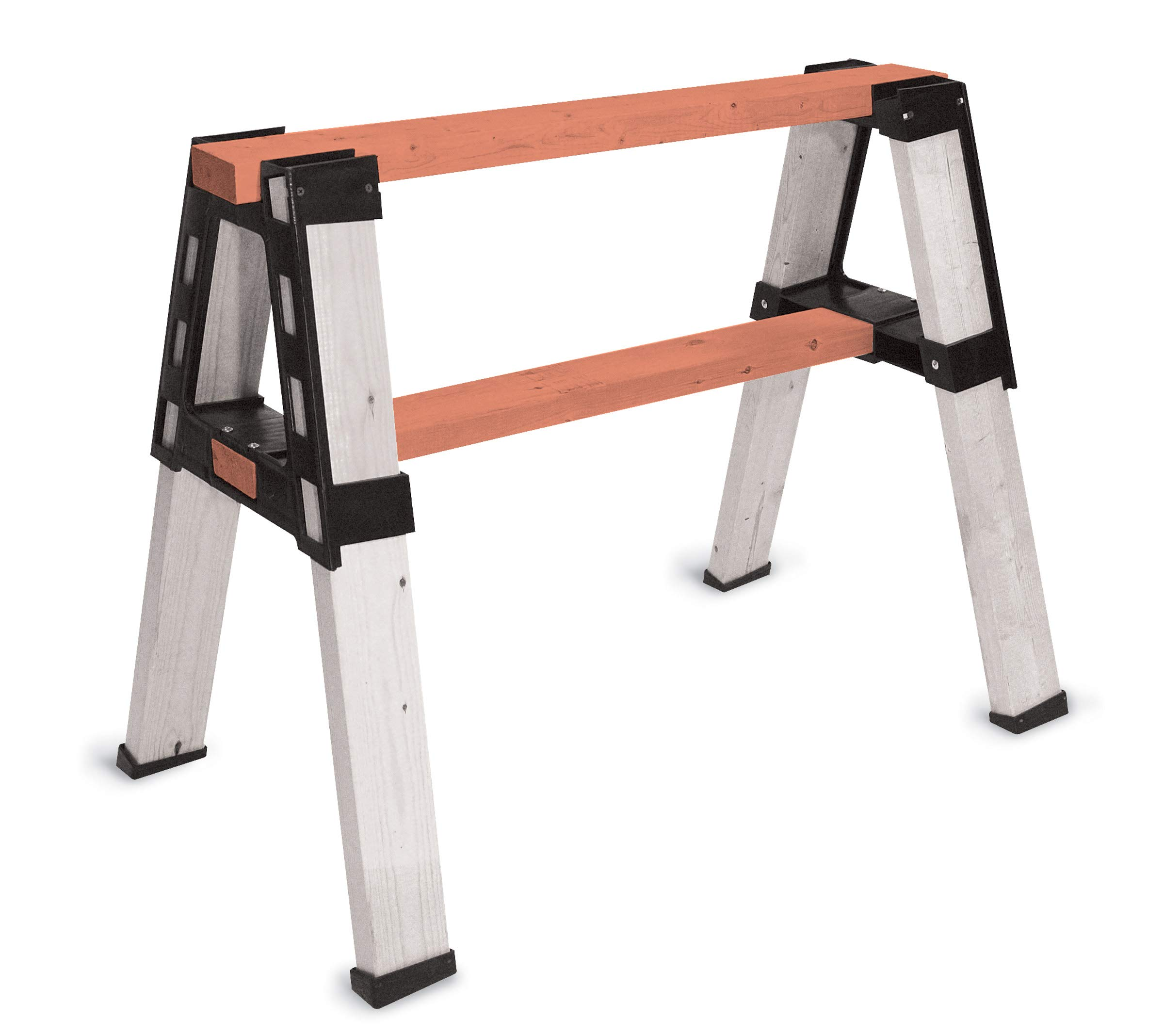2x4basics 90196 Custom Pro Brackets Sawhorse - 2 Pack by 2x4 basics