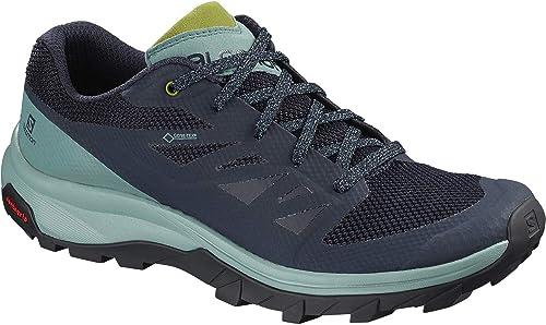 0c2c30196b3 Salomon Outline GTX Hiking Shoes - Women's Trellis/Navy Blazer/Guacamole 8