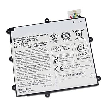 bpxbatterie de ordenador portátil pa5173u-1brs 3.75 V 20 wh 5200 mAh para Toshiba Encore