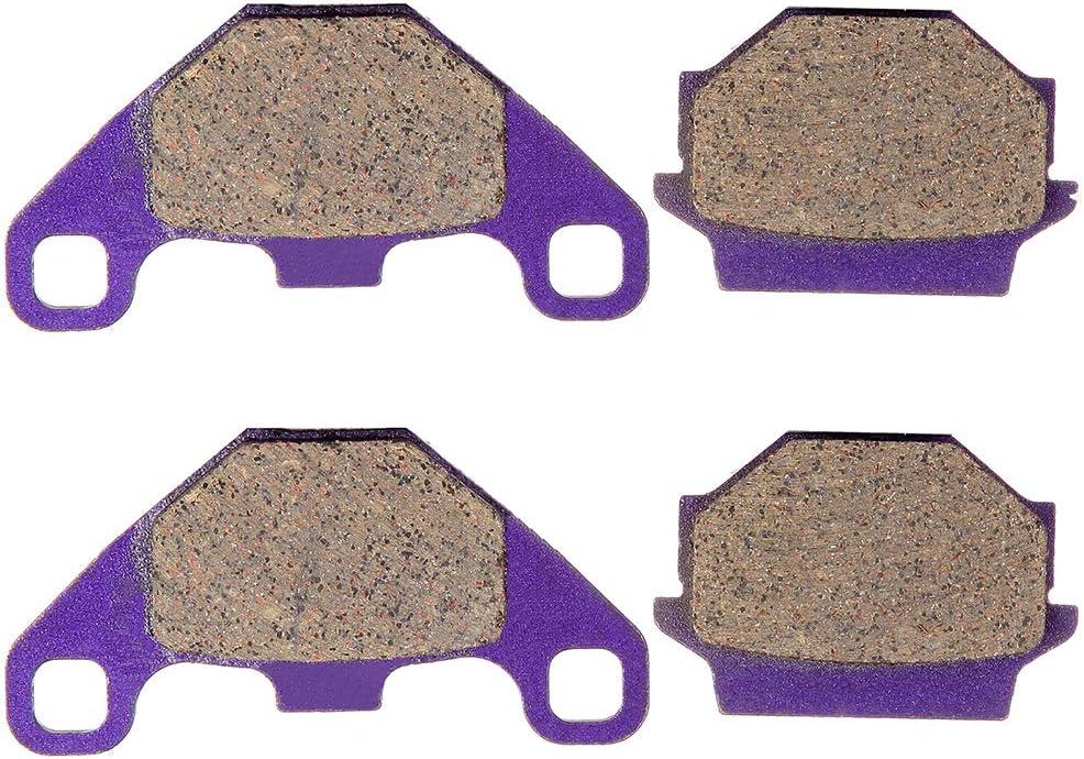 LSAILON Front and Rear Kevlar Carbon Brake Pads FA67 Fit for 1994 Husaberg FC501 1992-1993 Husaberg FC499