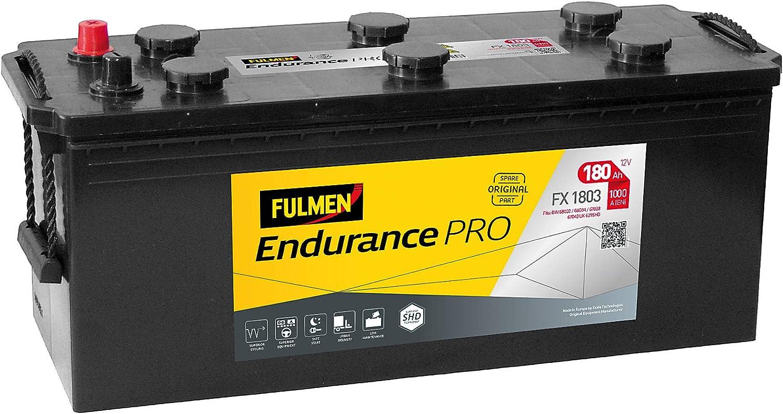 Fulmen lampa batería de 12 V Air Force Pro – 180 AH – 1000 A: Amazon.es: Coche y moto