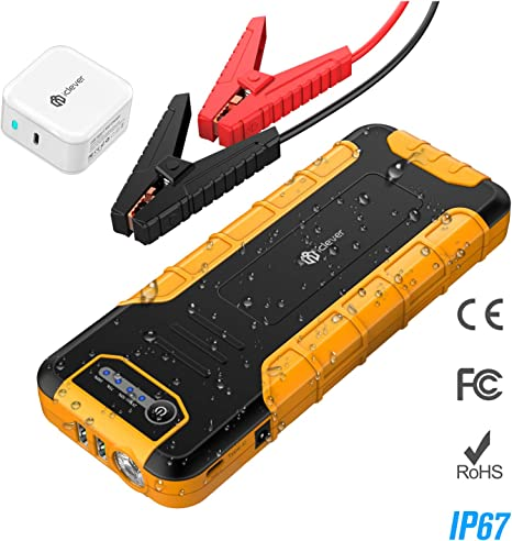 Quick Charge All Petrol, up to 6.5 L Diesel Storage Container 12 V Portable Car Battery Starter Tacklife T8 Max Car Jump Starter 1000 A Tip 20000 mAh Jump Starter Car Starter with LED Flashlight