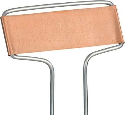 C SERIES ALUMINUM COPPER PAINTED GARDEN MARKER LABEL REPLACEMENT PLATES 25 PACK