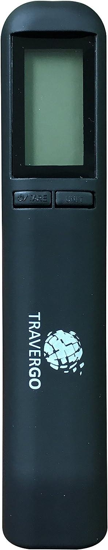 Go Green Power Digital Luggage Scale with Strap Black 0.26 Pound