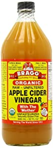 Bragg Apple Cider Vinegar USDA Organic - Glass Bottle (32 Ounce)