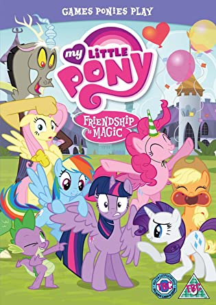 My Little Pony Friendship Is Magic Games Ponies Play Dvd Uk