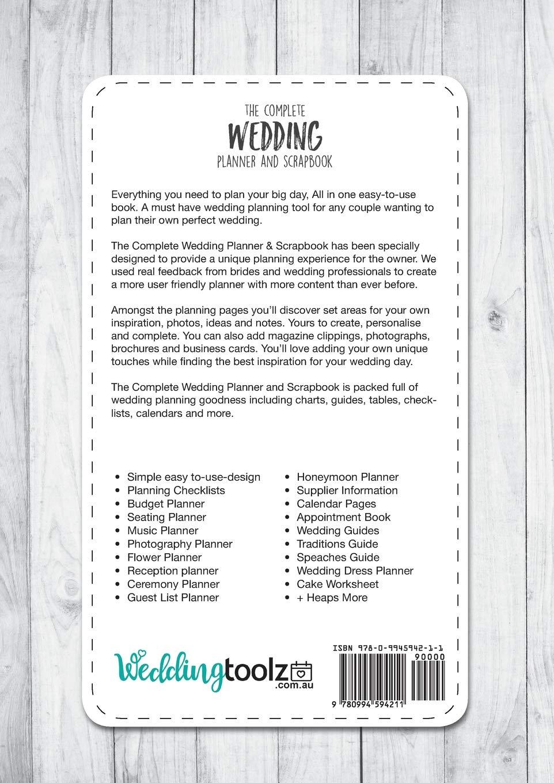 The Complete Wedding Planner and Scrapbook: DIY Wedding