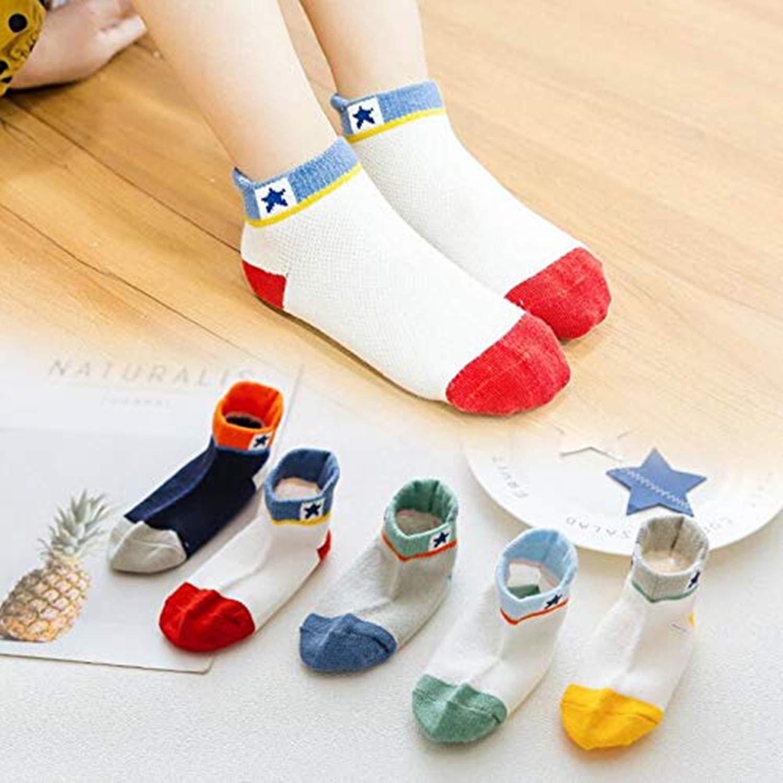 Fenhant 10 pares ni/ños ni/ños Cute novedad Crew calcetines de algod/ón 1-11 a/ños