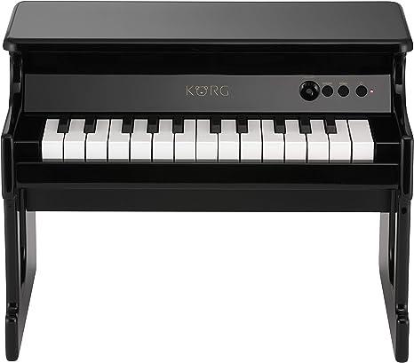 Korg TINYPIANOBK - Piano digital para niños, color negro